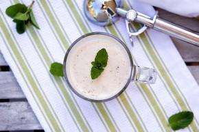 vegan shamrock shake