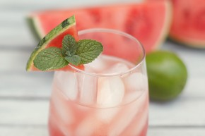 watermelon fresca agua image vegan healthy summer drink