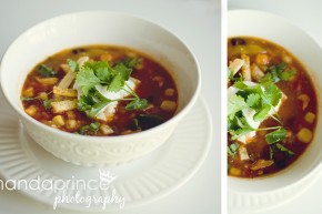 vegan cinco de mayo tortilla soup