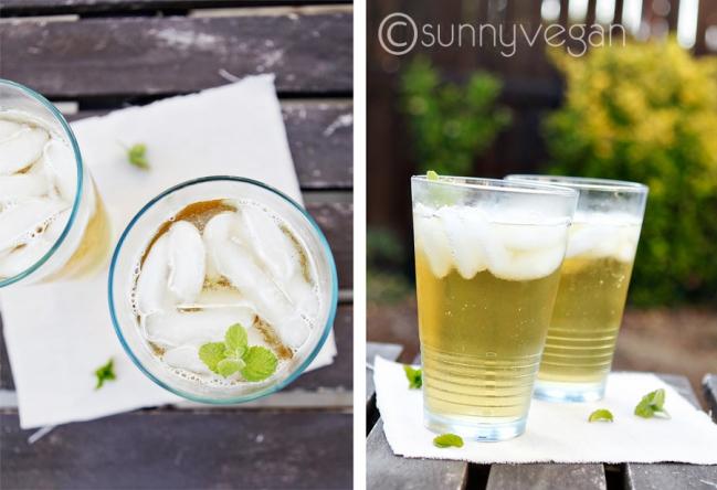 sparkling green tea - healthy soda alternative for weight loss