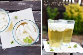 sparkling green tea - healthy soda alternative for weight loss