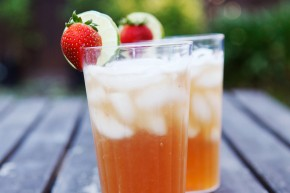 sparkling limeade recipe with strawberry
