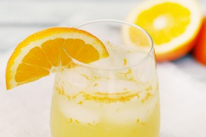 all natural orange soda drink by sunny vegan